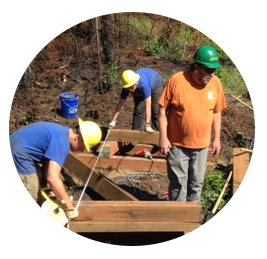 Support education programs for sustainable trail design and construction